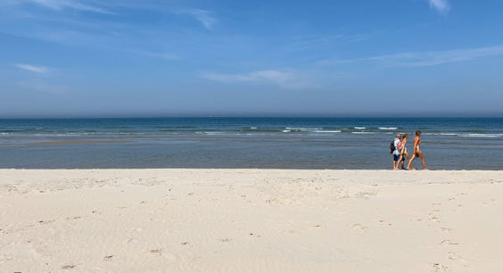 Strand van Terschelling.